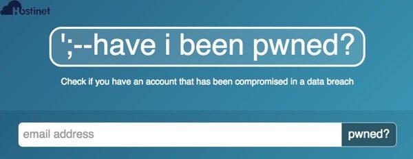 have i been pwned web comprueba tu cuenta de correo