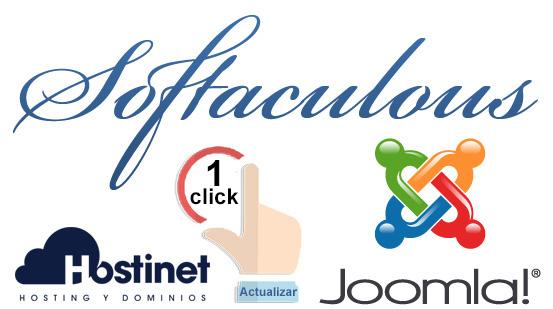 Actualizar Joomla en 1 Click desde Softaculous
