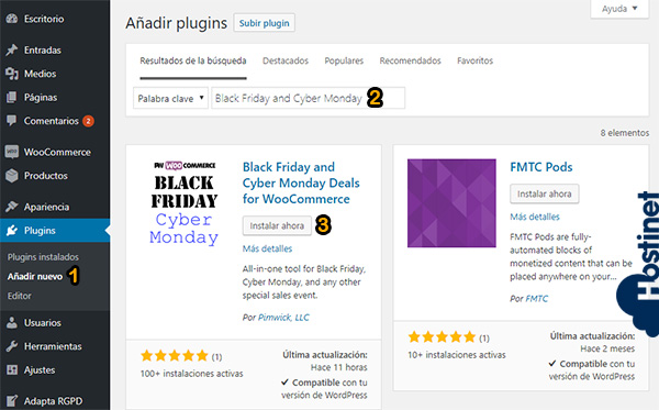 Plugin Black Friday and Cyber Monday Deals para WooCommerce - Istalar