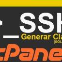 Generar Clave SSH en cPanel (SOLO VPS)