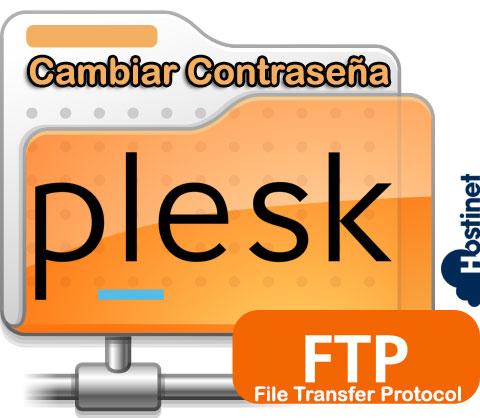 Cambiar Contraseña de Acceso FTP Plesk