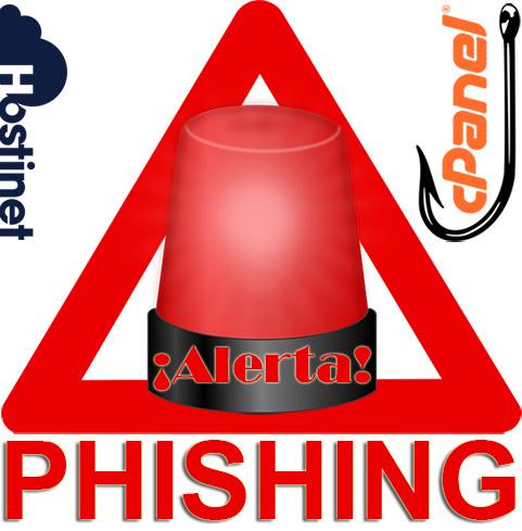 ¡Alerta! Phishing de cPanel
