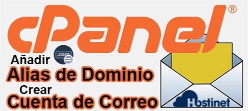 Añadir Alias de Dominio & Crear Cuenta de Correo en cPanel