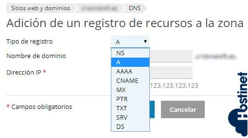 Cómo Agregar Nuevo Registro en Zona DNS (Plesk) 3
