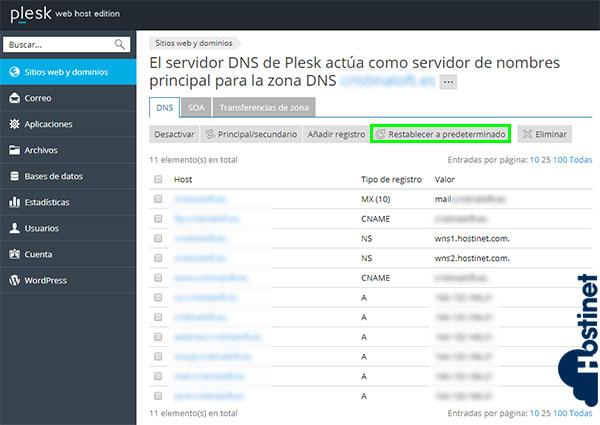 Cómo Agregar Nuevo Registro en Zona DNS (Plesk) 5