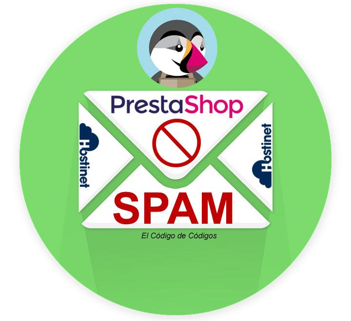 Cómo Bloquear SPAM en PrestaShop 1.6 (El Código de Códigos)