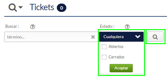 hostinet tickets abiertos cerrados