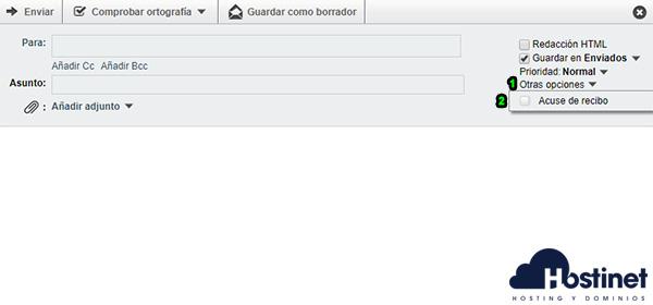 Webmail Horde - Acuse de Recibo