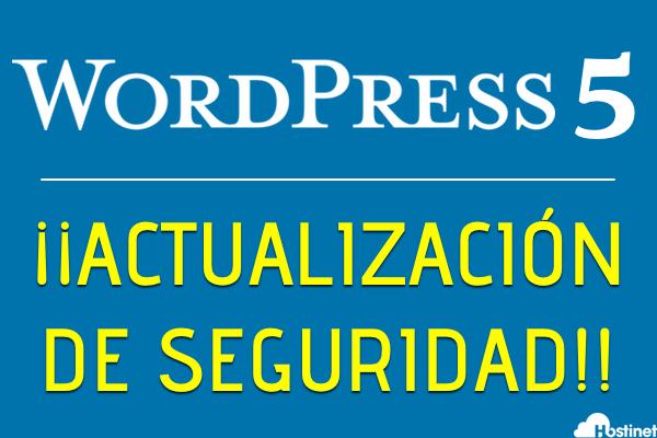 WordPress 5 - ¡Actualización de Seguridad Urgente!