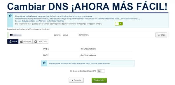 Cambiar DNS ¡Ahora Más Fácil!