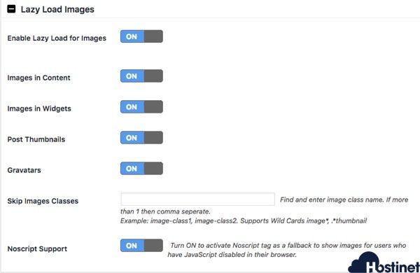a3 lazy load imagenes videos WordPress