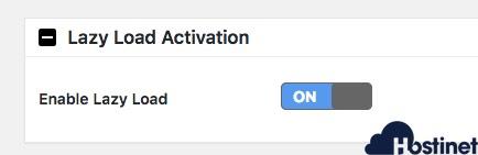 activar desactivar a3 lazy load WordPress
