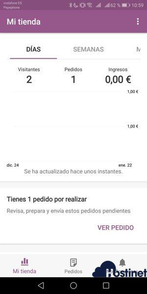 mi tienda WooCommerce Mobile App