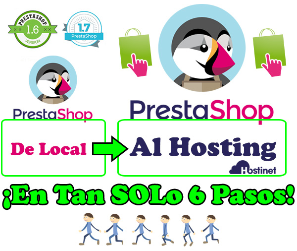 PrestaShop, de Local al Hosting ¡En Tan SOLO 6 Pasos!
