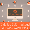 El 90% de los CMS Hackeados en 2018 era WordPress