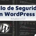 Fallo de Seguridad en WordPress 5 - Actualiza a 5.1.1