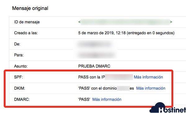 gmail spf dkim dmark