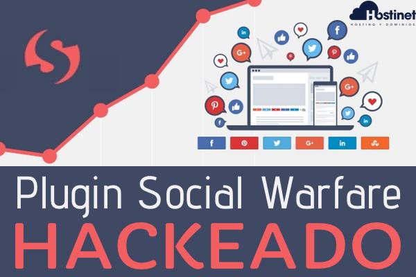 Plugin Social Warfare de WordPress con Problemas de Seguridad