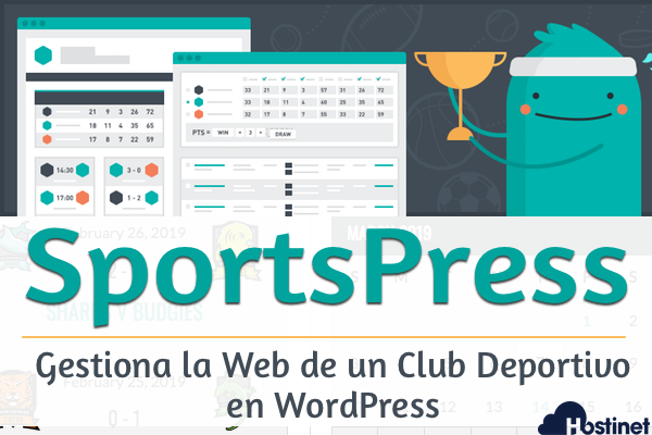 Gestiona la Web de un Club Deportivo en WordPress