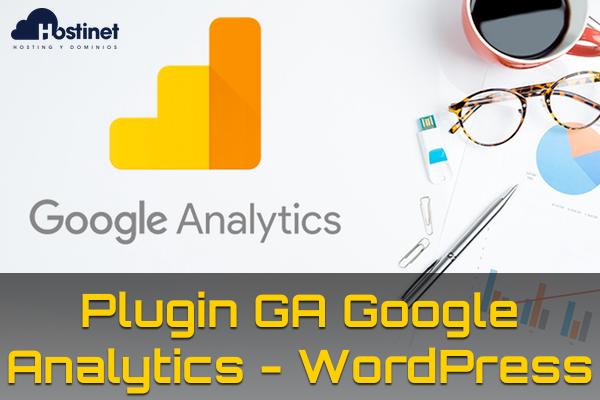 Plugin GA Google Analytics para WordPress