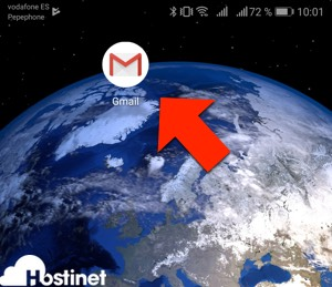 icono app gmail en Android