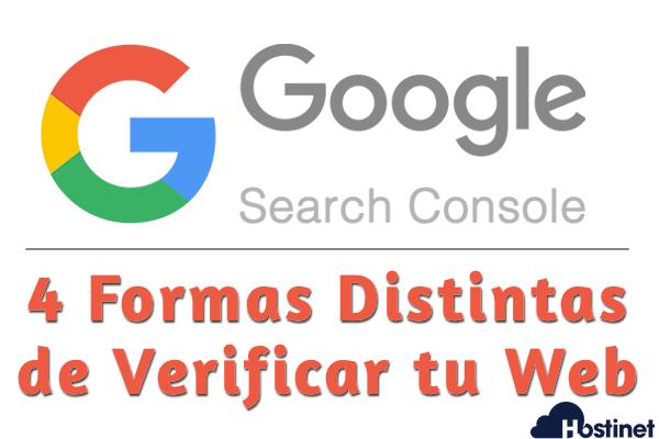 Formas Distintas de Verificar tu Web en Search Console de Google