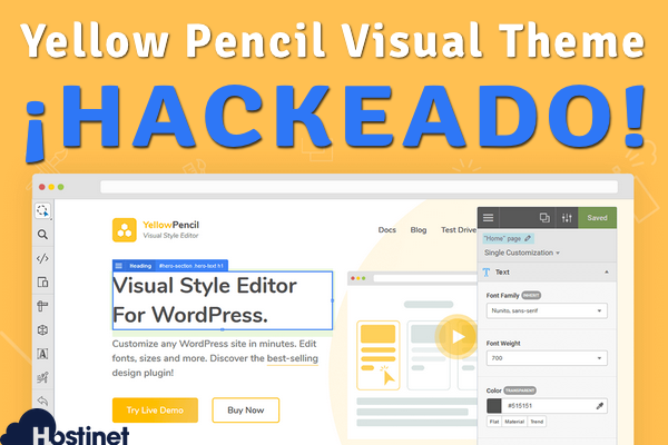 "Plugin WordPress ""Yellow Pencil Visual Theme Customizer"" Hackeado"