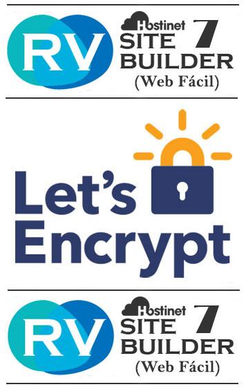 let's encrypt rvsitebuilder 7