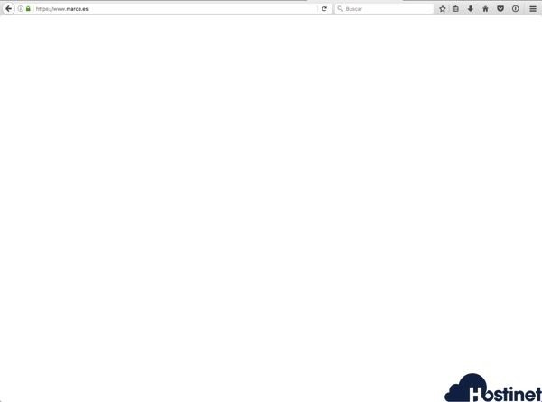 pantalla blanco de la muerte en wordpress