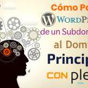 Cómo Pasar WordPress de un Subdominio al Dominio Principal con Plesk