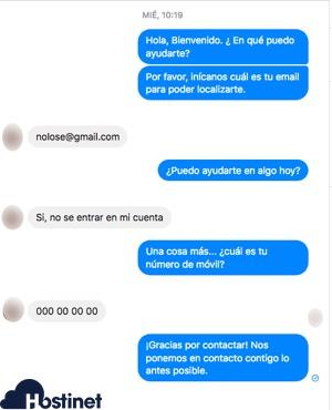 wp-chatbot conversacion messenger WordPress