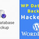 Plugin WP Database Backup Hackeado - WordPress