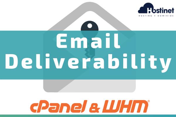 Email Deliverability - Nueva Función en cPanel