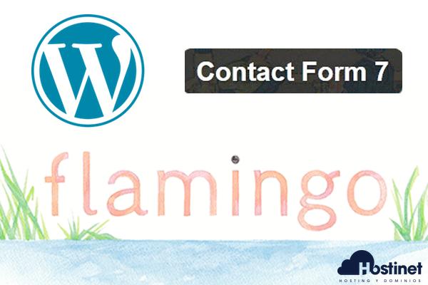 Flamingo: Guardar los Mensajes de Contact Form 7 en WordPress