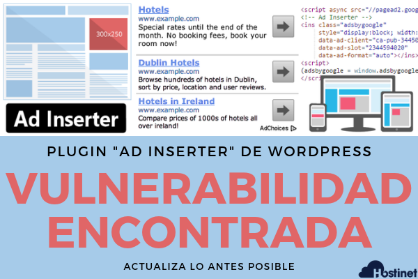 Vulnerabilidad Detectada en el Plugin Ad Inserter- WordPress