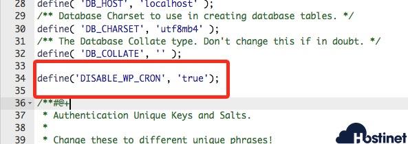 define anular cron wordpress