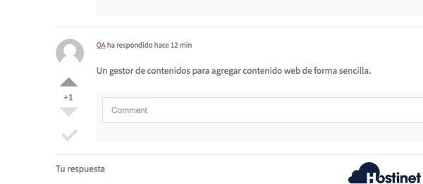dw qa valorar respuestas WordPress