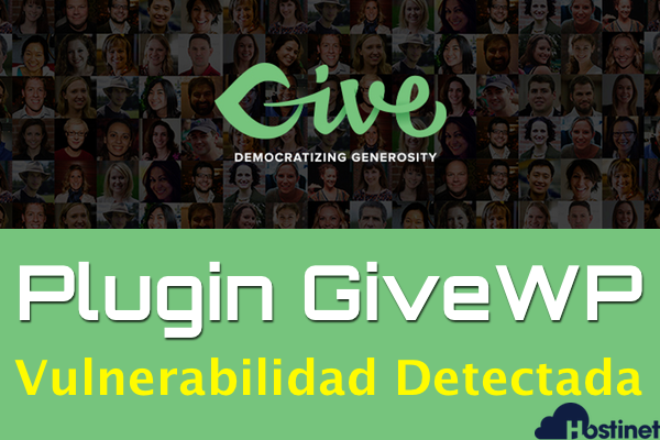 Plugin GiveWP para WordPress - Vulnerabilidad Detectada