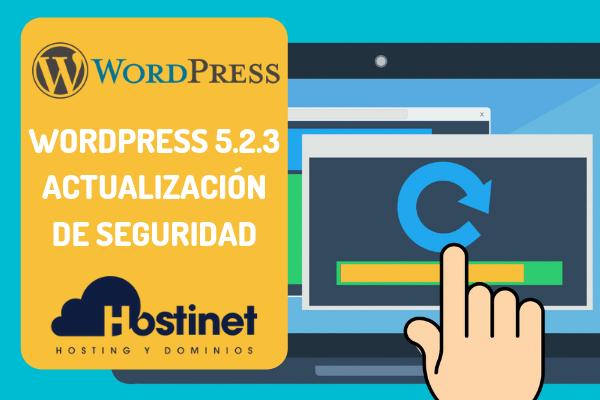 WordPress 5.2.3 - Actualización de Seguridad