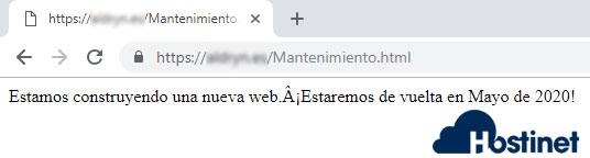 Mantenimiento HTML