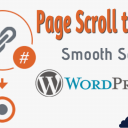 Page scroll to id - Smooth Scroll en WordPress