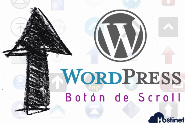 "WPFront Scroll Top - Botón de ""Scroll"" al Inicio en WordPress"