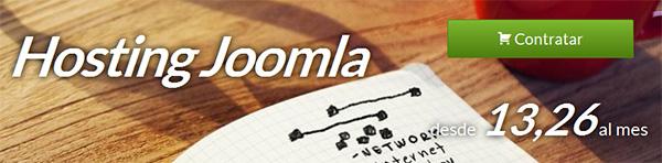 Hositng Joomla! con Hostinet