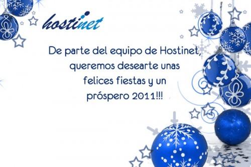 Desde Hostinet... Felices Fiestas!