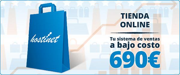 Tiendas Online, tu sistema de ventas de bajo costo