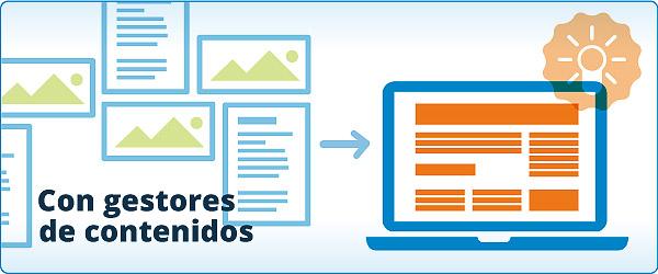 Webs autoadministrables con gestores de contenidos