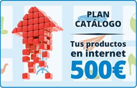 plan catálogo :: Tus productos en internet 500 €