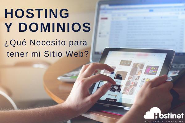 Hosting y dominio ¿Qué necesito para mi Web?