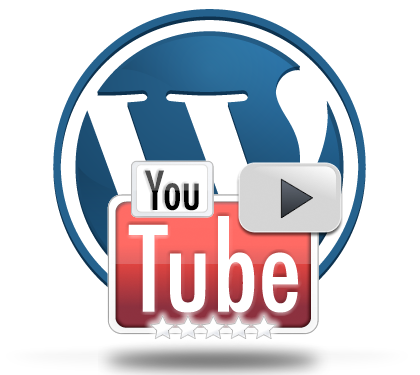 Logos de WordPress y Youtube