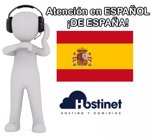 Atención en Español ¡De España!